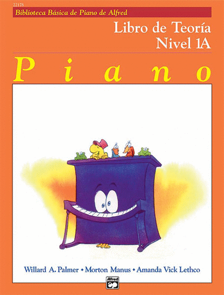 Alfred's Basic Piano Course - Theory Book Level 1A (Spanish Edition)