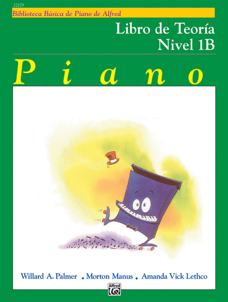 Alfred's Basic Piano Course - Theory Book Level 1B (Spanish Edition)