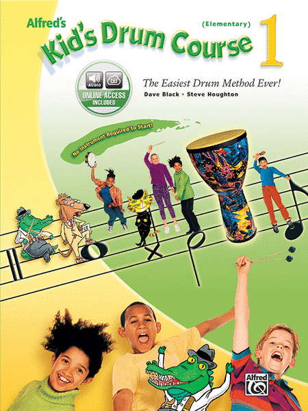 Alfred's Kid's Drum Course, Book 1