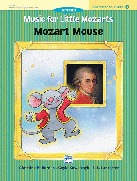 Music for Little Mozarts - Character Solos: Mozart Mouse