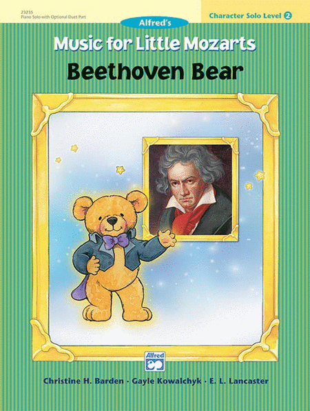 Music for Little Mozarts - Character Solos: Beethoven Bear