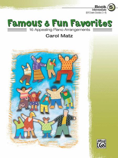 Famous & Fun Favorites - Book 5