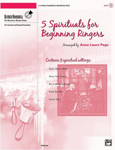5 Spirituals for Beginning Ringers