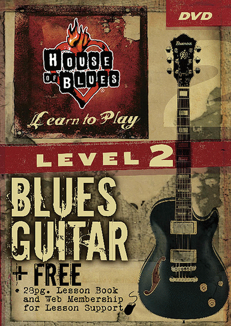 House of Blues - Blues Guitar, Level 2