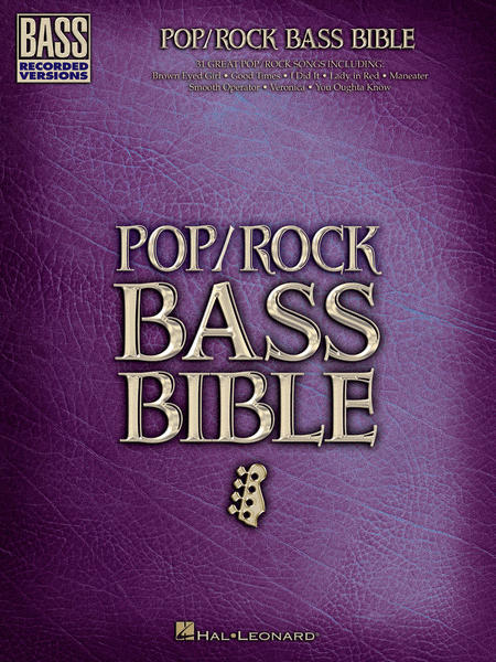 Pop/Rock Bass Bible