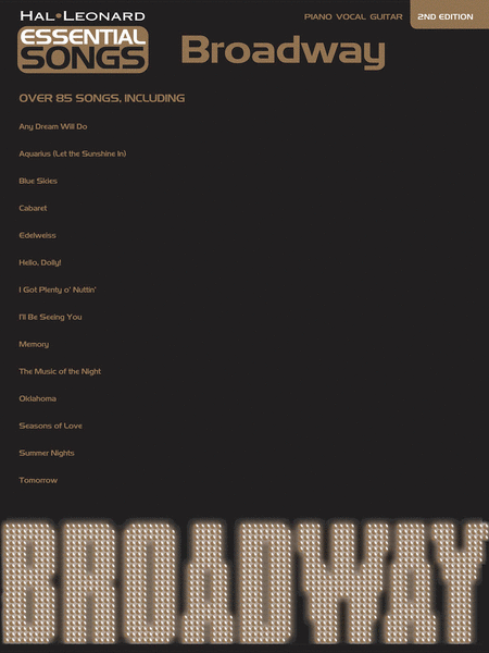 Essential Songs - Broadway - 2nd Edition