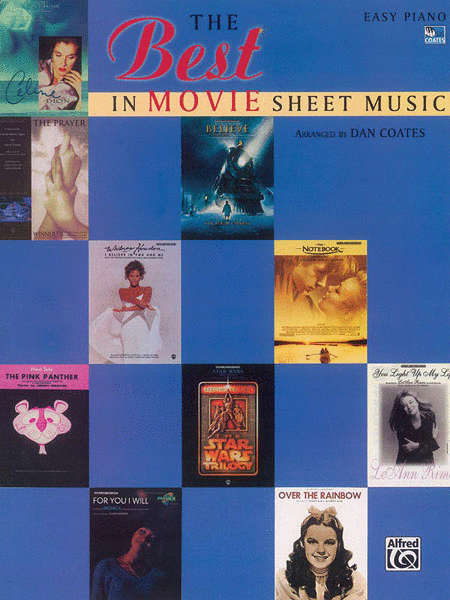 The Best In Movie Sheet Music Sheet Music By Dan Coates