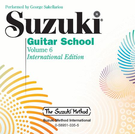 Suzuki Guitar School, Volume 6