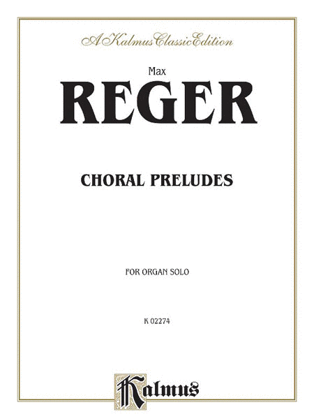 Choral Preludes, Opus 67