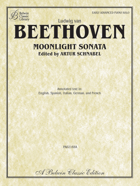 Moonlight Sonata (Sonata No. 14 in C-sharp Minor, Op. 27, No. 2)