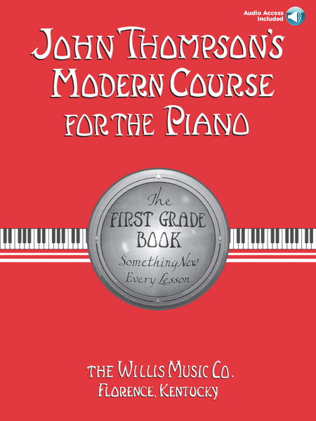 John Thompson's Modern Course for the Piano - First Grade (Book/CD Pack)