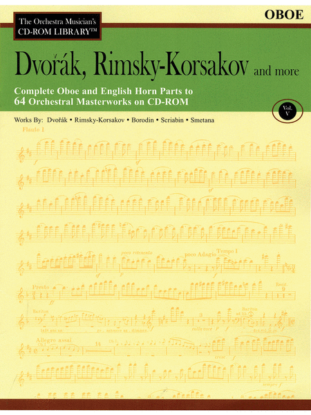 Dvorak, Rimsky-Korsakov and More - Volume V (Oboe)