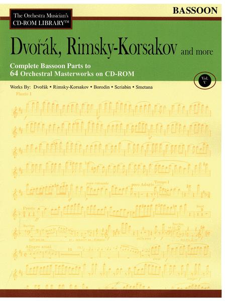 Dvorak, Rimsky-Korsakov and More - Volume V (Bassoon)