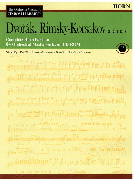 Dvorak, Rimsky-Korsakov and More - Volume V (Horn)
