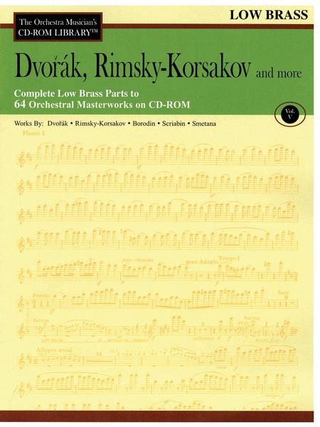 Dvorak, Rimsky-Korsakov and More - Volume V (Low Brass)