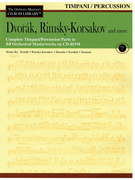 Dvorak, Rimsky-Korsakov and More - Volume V (Timpani/Percussion)