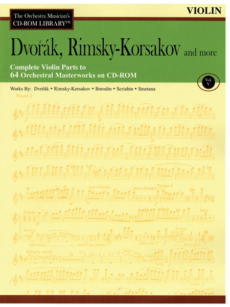 Dvorak, Rimsky-Korsakov and More - Volume V (Violin)
