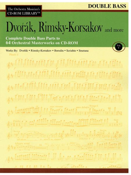 Dvorak, Rimsky-Korsakov and More - Volume V (Bass)