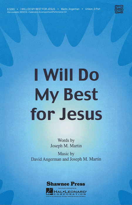 I Will Do My Best for Jesus