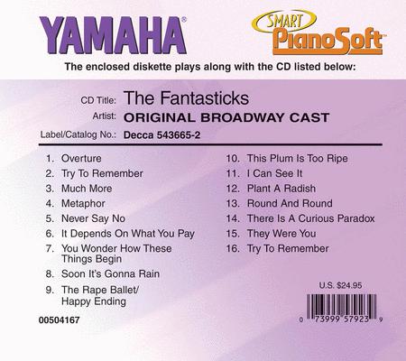 The Fantasticks - Original Broadway Cast - Piano Software