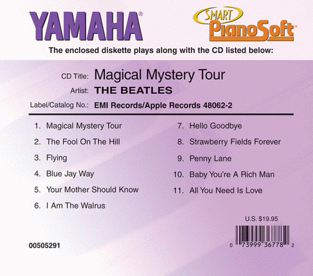 The Beatles - Magical Mystery Tour - Piano Software