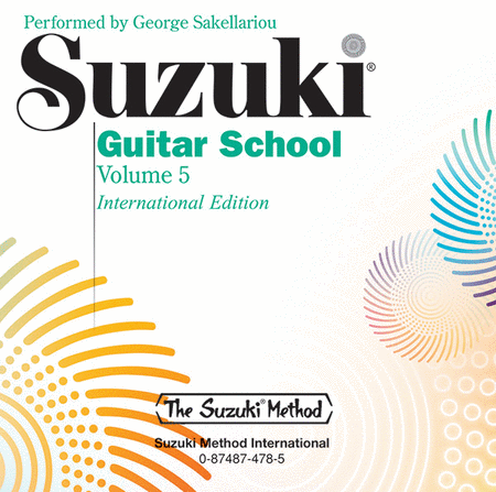 Suzuki Guitar School, Volume 5