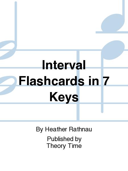 Interval Flashcards in 7 Keys