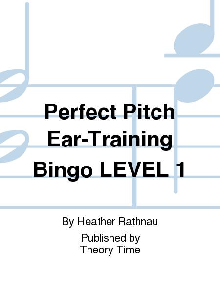 Perfect Pitch Ear-Training Bingo LEVEL 1