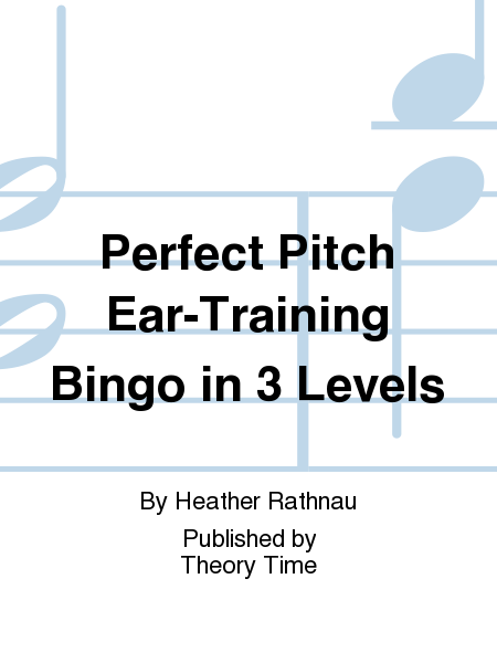 Perfect Pitch Ear-Training Bingo in 3 Levels