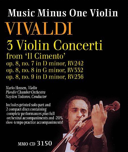 Vivaldi - 3 Violin Concerti from 'Il Cimento,' Op. 8, Nos. 7, 8, 9