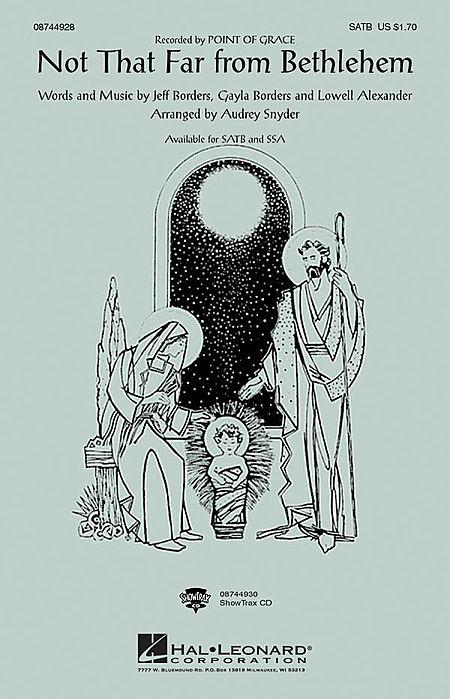 Not That Far From Bethlehem - ShowTrax CD