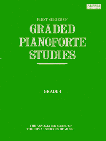 Graded Pianoforte Studies First Series Grade 4