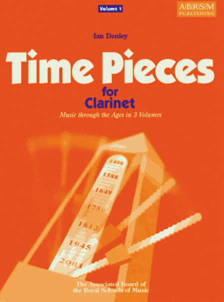 Time Pieces for Clarinet Volume 1