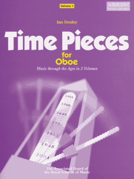 Time Pieces for Oboe Volume 1 (Music through the Ages in 2 Volumes)