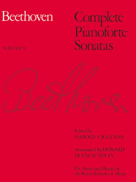 Complete Pianoforte Sonatas Volume 2 (paper cover)
