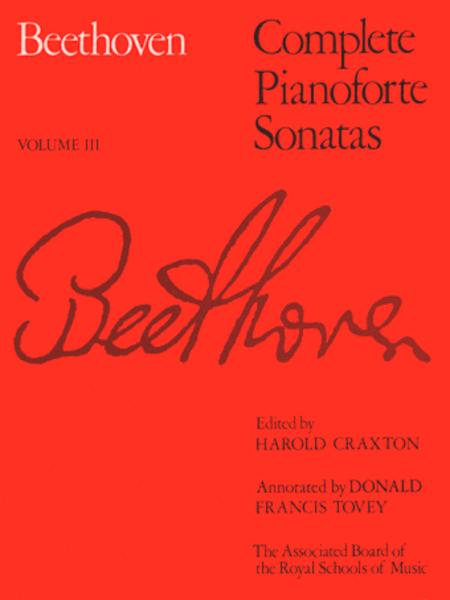 Complete Pianoforte Sonatas Volume 3