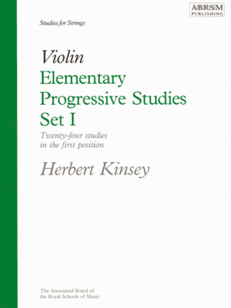 Elementary Progressive Studies, Set I for Violin