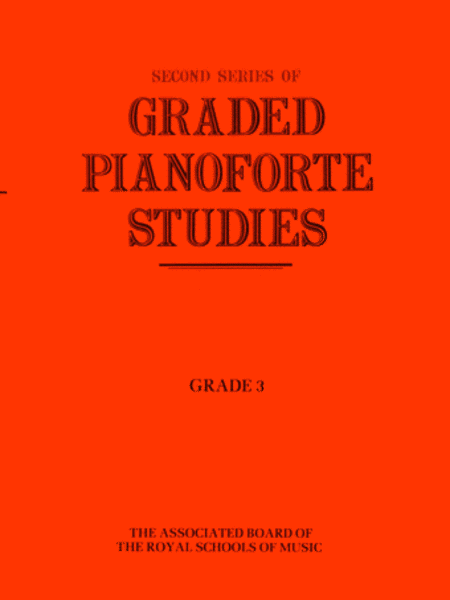Graded Pianoforte Studies, Second Series, Grade 3