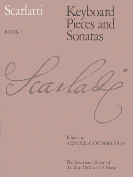 Keyboard Pieces and Sonatas, Book I