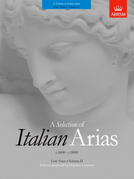 A Selection of Italian Arias 1600-1800 Vol. 2
