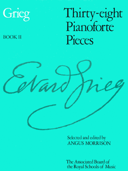 Thirty-eight Pianoforte Pieces, Book II