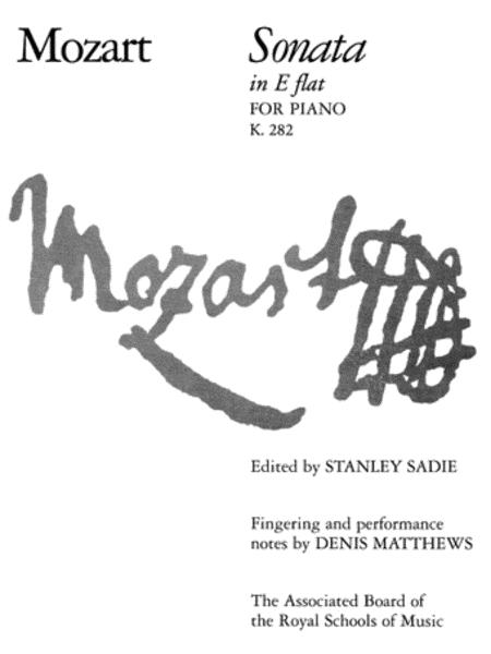 Sonata in E flat K. 282