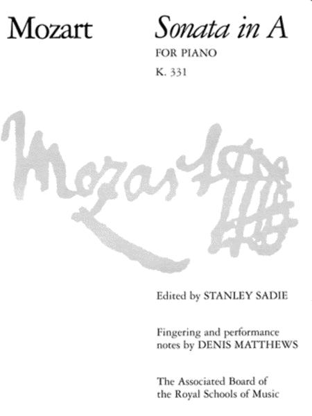 Sonata in A, K.331