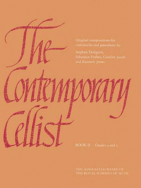 The Contemporary Cellist, Book II