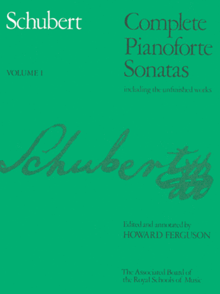 Complete Piano Sonatas Volume 1 (soft-bound)