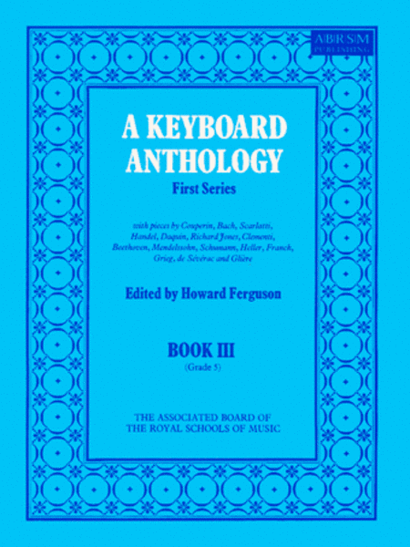 A Keyboard Anthology First Series, Book 3