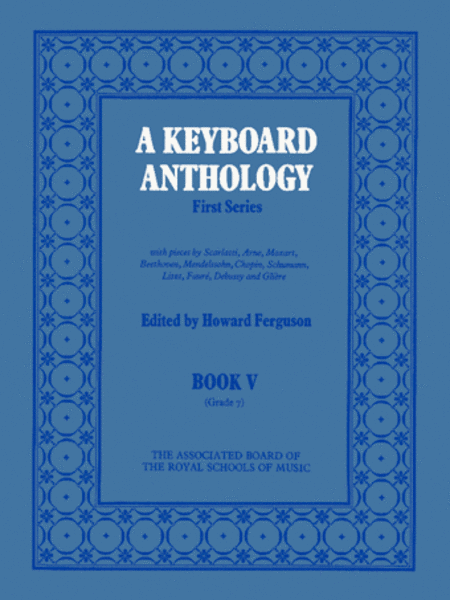 A Keyboard Anthology First Series Book 5