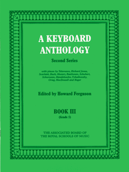 A Keyboard Anthology Second Series, Book 3