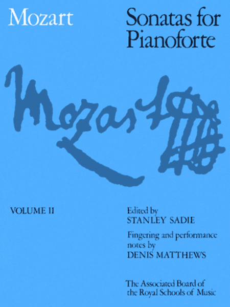 Sonatas for Pianoforte Volume 2 (paper cover)