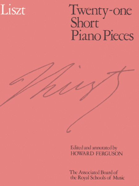 Twenty-one Short Piano Pieces